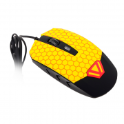 Мышь CBR CM 833 Beeman Black-Yellow USB
